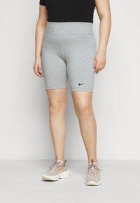 Nike Sportswear - LEGASEE BIKE PLUS - Szorty - grey heather/black - 0