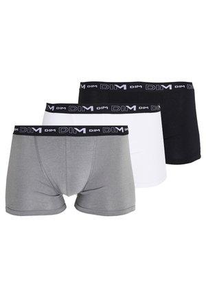 3 PACK - Pants - schwarz/grau/weiß