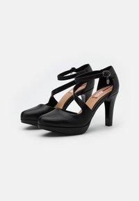 s.Oliver - High heels - black - 2