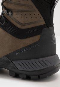 Mammut - MERCURY TOUR II HIGH GTX MEN - Outdoorschoenen - bark/black - 5