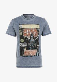 Re:Covered - STAR WARS EMPIRE STRIKES BACK - T-shirt print - blau - 1