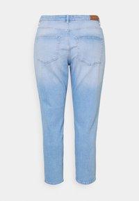 ONLY Carmakoma - CARENEDA LIFE MOM BABY  - Jeans relaxed fit - light blue denim - 7