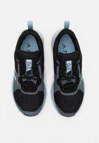 adidas Performance - TERREX TWO GORE-TEX - Trail running shoes - core black/grey three/ash grey - 3