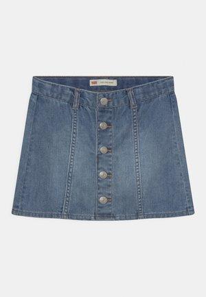 HIGHRISEBUTTONFRONT - Mini skirt - milestone