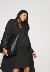 ONLY - OLMTRILLION LONG COATIGAN - Classic coat - black - 3