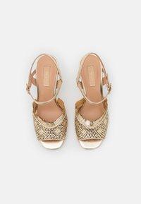 Liu Jo Jeans - APRIL  - Sandales - light gold - 5