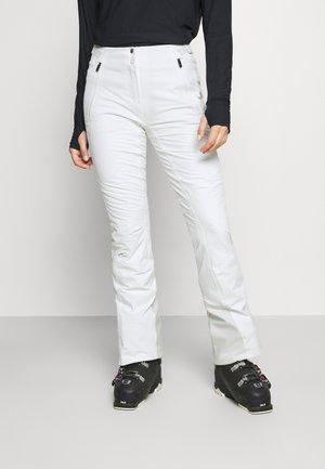 WOMEN FORMULA PANTS - Skibroek - white