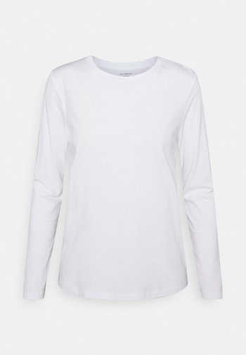 STRAIGHT CREW - Long sleeved top - white