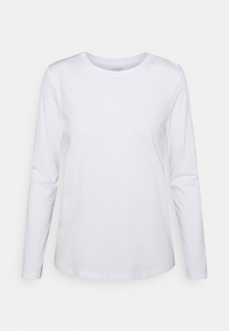 Marks & Spencer London - STRAIGHT CREW - Longsleeve - white
