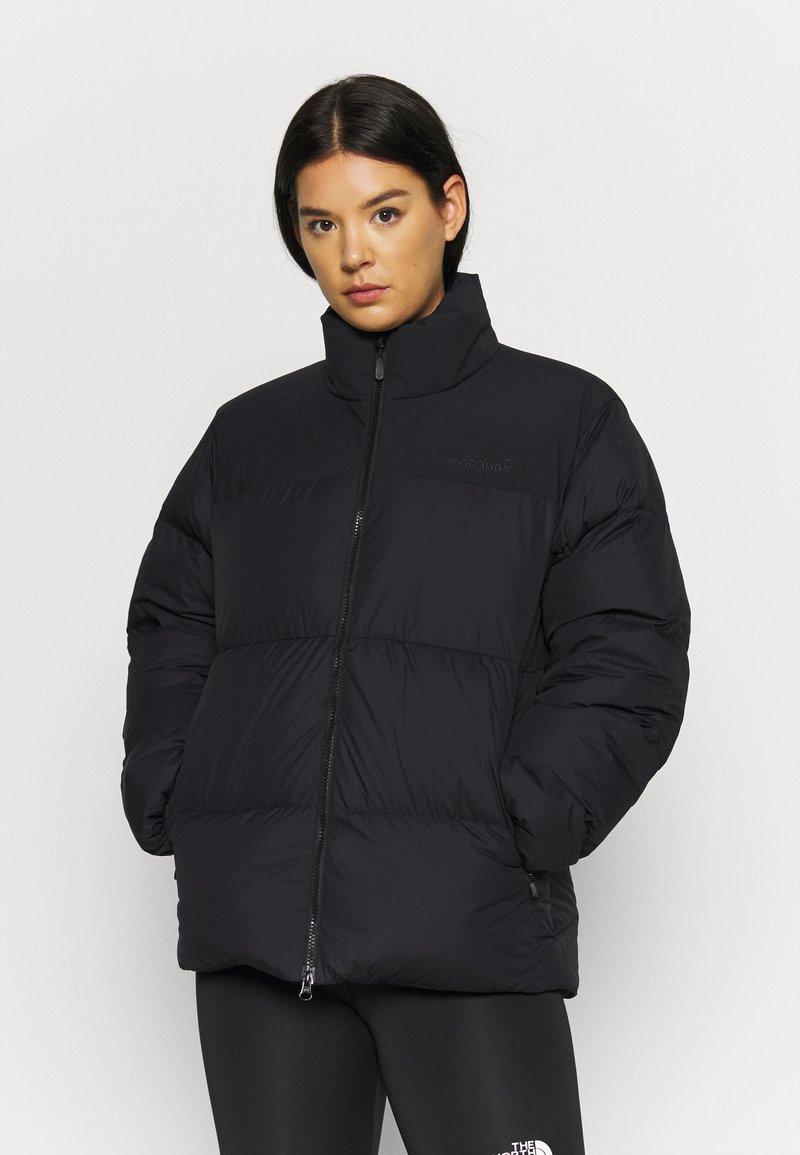 Norrøna - NORRØNA 750 JACKET - Down jacket - black