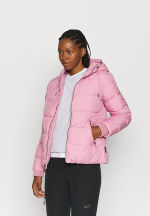 CRYSTAL PALACE JACKET - Bunda z prachového peří - dusty pink