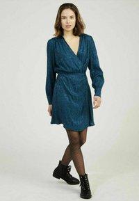 NAF NAF - Shirt dress - blue - 1
