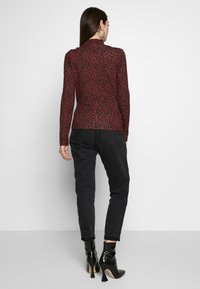 Even&Odd - Long sleeved top - red/black - 2