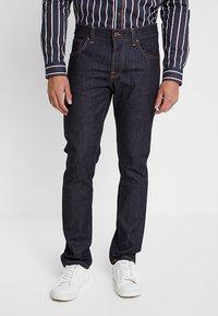 Nudie Jeans - GRIM TIM - Straight leg jeans - dry true navy - 0