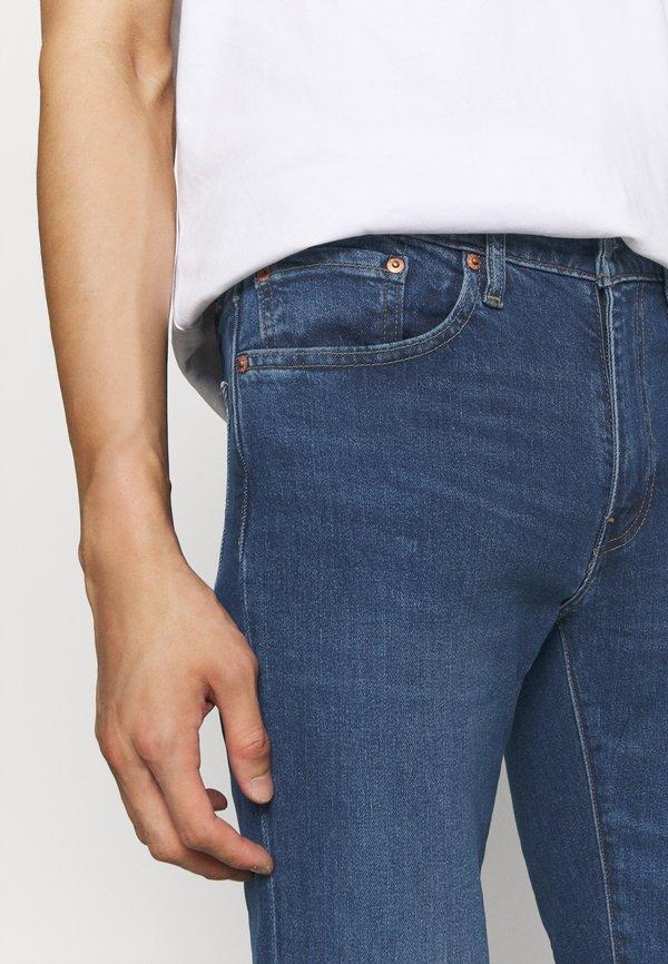 Levi's® 511™ SLIM - Jeansy Slim Fit - dark blue denim/ciemnoniebieski Odzież Męska DAKU