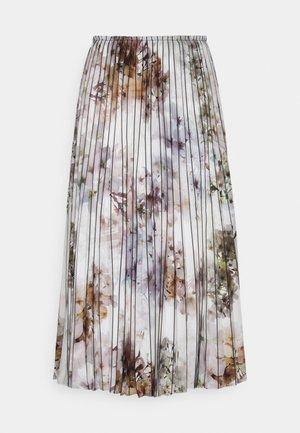 FLAVVIA - Plisovaná sukně - white