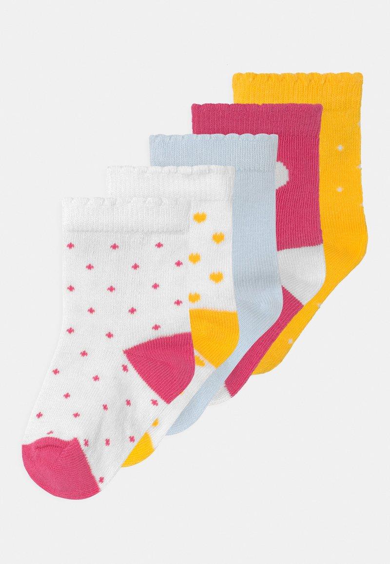 Petit Bateau - 5 PACK - Socks - white/yellow