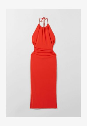 WITH CUT-OUT AND OPEN BACK  - Sukienka koktajlowa - red