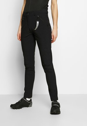 RUKKA RAVILE - Trousers - black