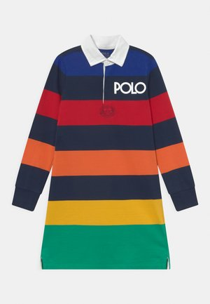 RUGBY DAY - Jersey dress - navy/multi-coloured