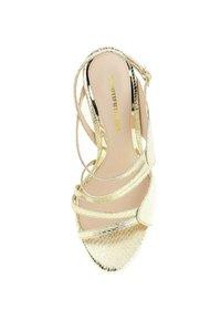 PRIMA MODA - PORTANNA  - High heeled sandals - platinum - 1