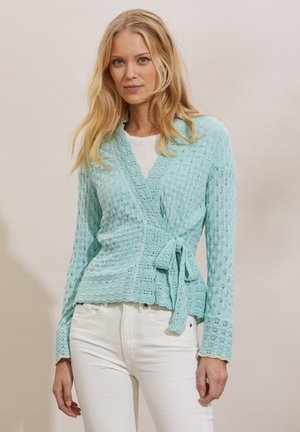 Cardigan - light aqua
