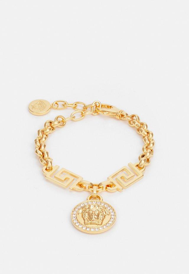 BRACELET PENDANT - Armband - bianco/oro
