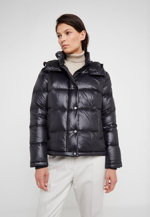 WATER REPELLENT BRYCE  - Gewatteerde jas - black