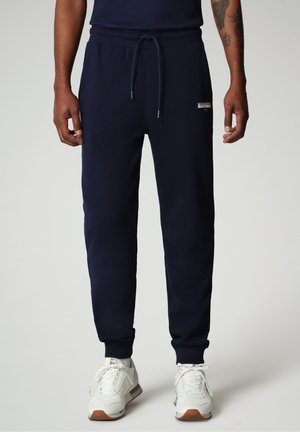 M-ICE - Tracksuit bottoms - medieval blue