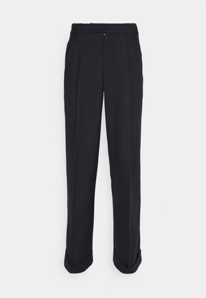 Trousers - navy