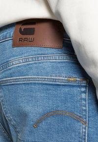 G-Star - 3301 STRAIGHT FIT - Straight leg jeans - azure stretch denim - 4