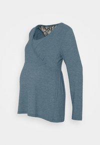 NURSING - Camiseta de manga larga - mallard blue