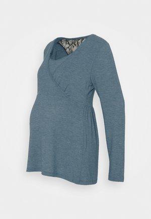 NURSING - Topper langermet - mallard blue