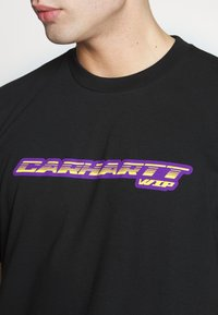 Carhartt WIP - SPORT SCRIPT - T-shirt med print - black - 5