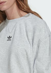 adidas Originals - Sweatshirt - light grey heather - 4