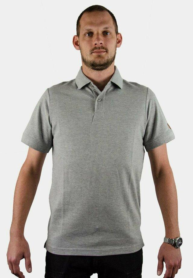 Polo shirt - hellgrau melange