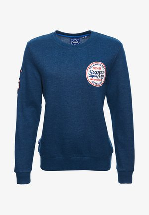 STANDARD PATCH  - Sweatshirt - pacific blue marl