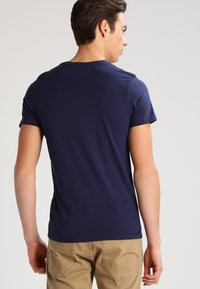 Lee - 2 PACK - T-shirt basic - blue/mottled grey - 3