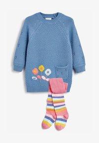 Next - Jumper dress - blue - 2