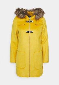 Classic coat - amber yellow