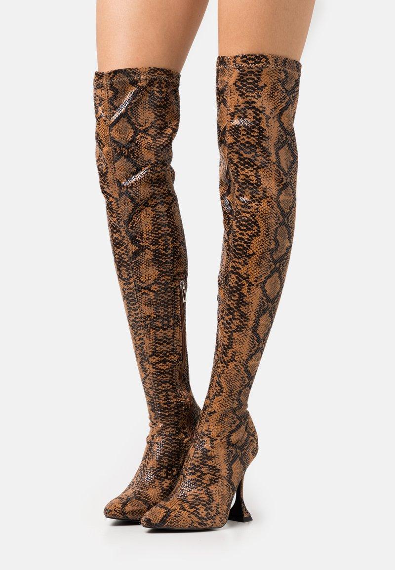 BEBO - HOPPER - High heeled boots - tan