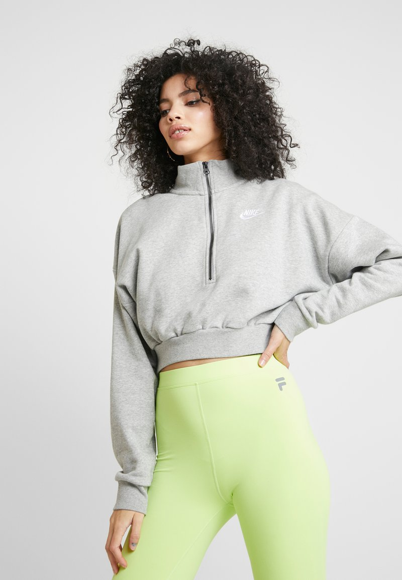 Nike Sportswear - Sweatshirt - grey heather/white