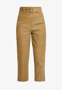 ALIYAH PANTS - Kalhoty - caramel