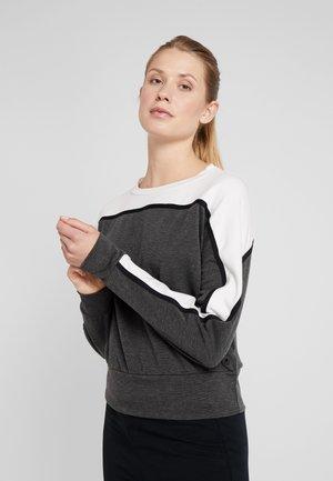 FELPA GIROCOLLO - Sweater - grey melange scuro
