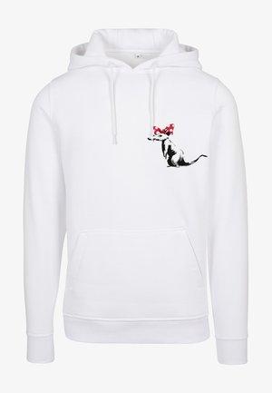 RAT  - Hoodie - white