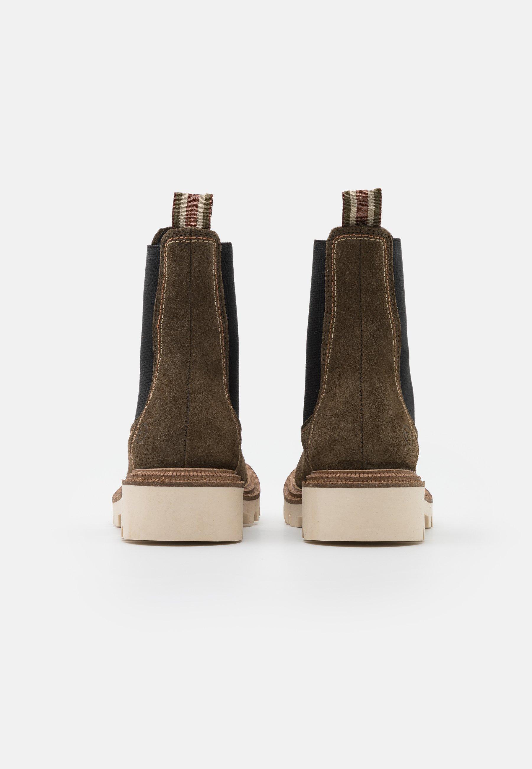 Tamaris Boots - Støvletter Olive
