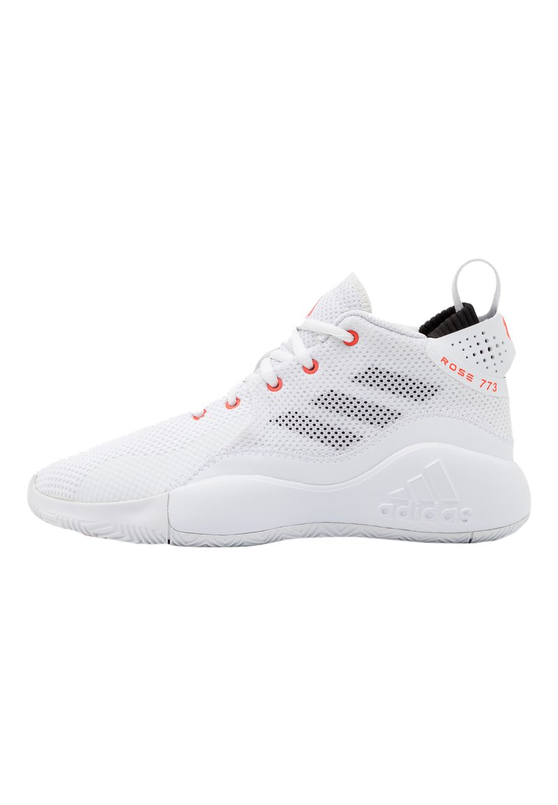 adidas Performance - ROSE BOUNCE SPORTS BASKETBALL SHOES UNISEX - Basketbalové boty - white
