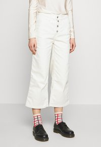 Levi's® - MILE HIGH BUTTONS - Flared jeans - defined twill birch - 0