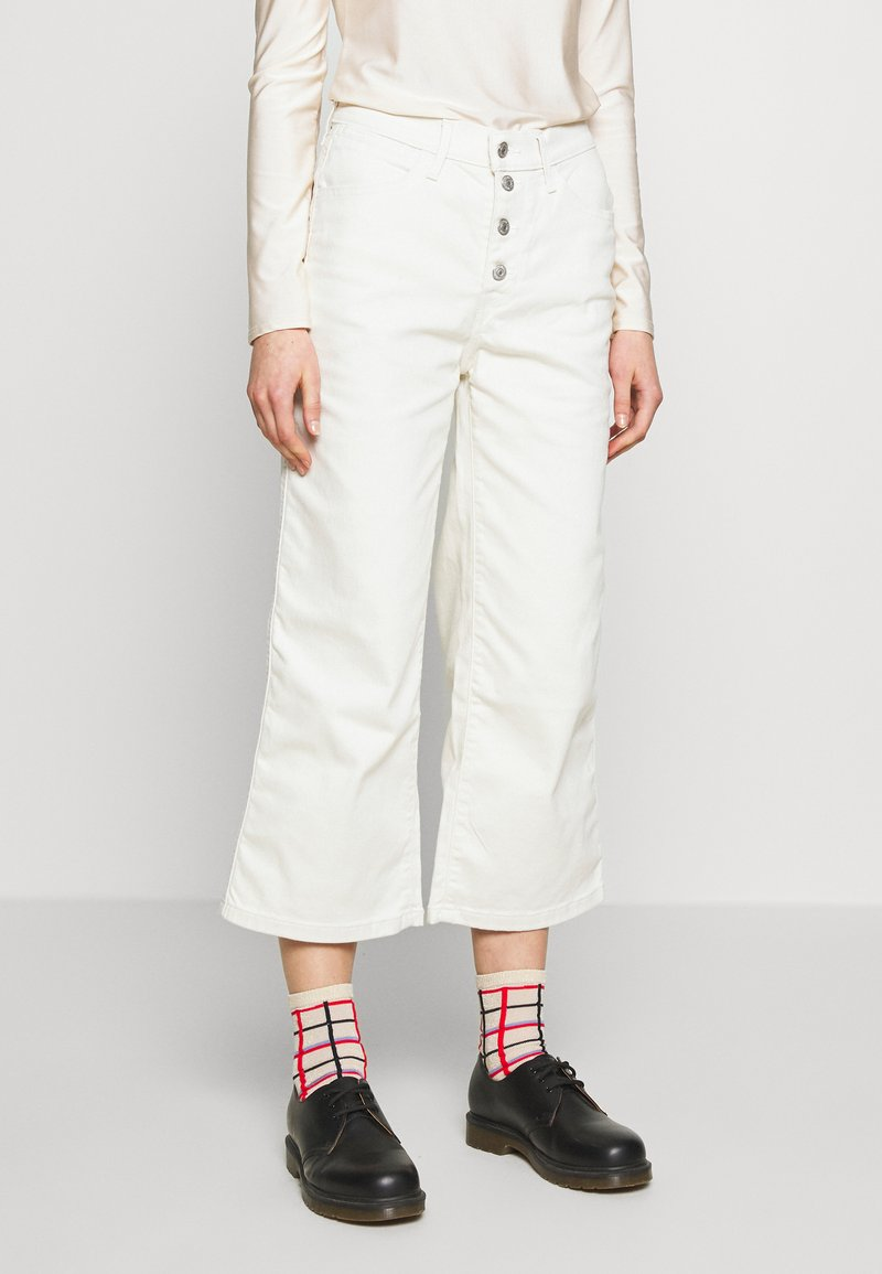 Levi's® - MILE HIGH BUTTONS - Flared jeans - defined twill birch