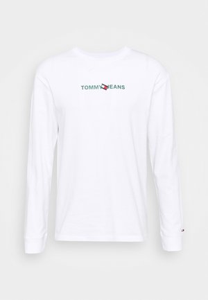 LOGO TEE UNISEX - Langærmede T-shirts - white